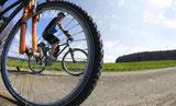 Fahrradtour mit Partnern
