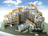 マンション建築模型