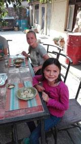 Momos im Kochkurs in Kathmandu
