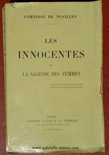 Les innocentes, Comtesse de Noailles