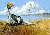 Bild eines Dilophosaurus