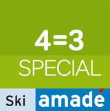 Ski amadé, Pauschale, 4=3, skifahren, Unterkunft, Radstadt