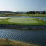 Loch 7 des C-Course © Golf Valley München