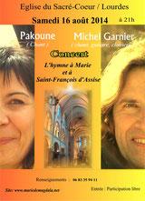 Concert à Lourdes, 16 août 2014, cliquez pour agrandir