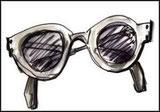 Gli occhiali.
