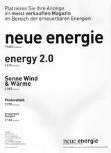 Neue Energie: Anzeige zur Eigenwerbung, 8 / 2015