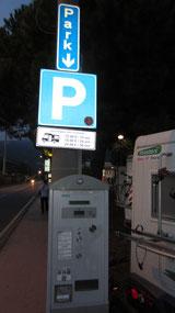 Stellplatz in Levanto