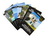 Immobilienquartettspiel, Produktekatalog in Kartenform, Jasskarten drucken und produzieren