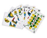 wir drucken Jasskarten, Spielkarten, Quartettkarten, Lernkarten