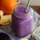 Wild Blueberry Lavender Smoothie