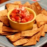 Flatbread Chips & Salsa