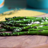 Asparagus with Garlic Buttery Spread