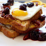 Protein-Rich Cherry French Toasta