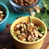 Italian Lupini Bean Salad with Crushed Pistachios