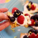 Loaded Berries & Cream Dessert Chips