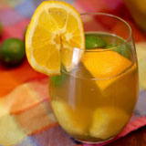 Tropical Green Tea Sangria Mocktail