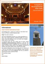 Monatlicher Gemeindebrief