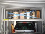 Création d'une mezzanine dans le conteneur de déménagement France-Réunion avec Long-Cours