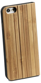 Iphone 5 5s SE Fliphülle Bambus stehend