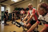 RMC´ler beim Indoor-Cycling