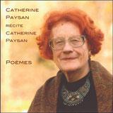pochette du cd Catherine Paysan récite Catherine Paysan