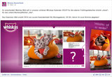 """Katzenkorb """"Blüte"""""""