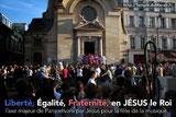 fête de la musique 2013 sur le parvis du Temple du Marais avec Le Choeur Gospel de Paris