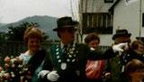 Königspaar 1987 Otto Schmidt und Ursula Costenaro
