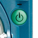 AED on/off button