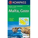 Kompass Karten, Malta (KOMPASS-Wanderkarten, Band 235)