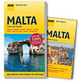 ADAC Reiseführer plus Malta mit Maxi-Faltkarte zum Herausnehmen