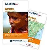 Kenia Tansania Sansibar MERIAN live! - Mit Kartenatlas im Buch und Extra-Karte zum Herausnehmen