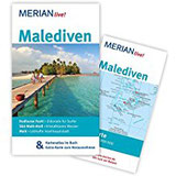 Malediven MERIAN live! - Mit Kartenatlas im Buch und Extra-Karte zum Herausnehmen