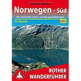 Norwegen Süd Die schönsten Fjord- und Bergwanderungen. 53 Touren. Mit GPS-Tracks. (Rother Wanderführer)