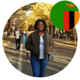Ms Carol Mwale, PhD Student in Japan from Zambia.