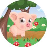 Veganimo Pouiki le petit cochon