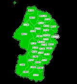ポスティング山形(東北)配布部数表