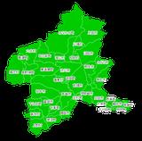 ポスティング群馬(関東首都圏)配布部数表