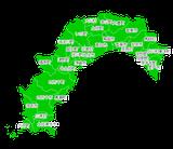 ポスティング高知(四国)配布部数表