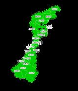 ポスティング金沢市(石川県)配布部数表