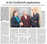 Besuch von der Sozialministerin Cornelia Rundt