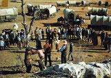 """""""Unter Geiern"""" Bild 29 - Martin Baumann soll als gemeiner Pferdedieb gehängt werden."""