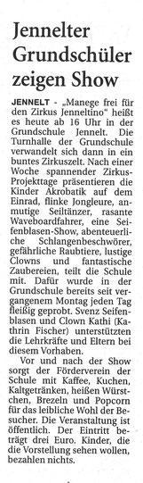 Ostfriesen-Zeitung 21.4.2016