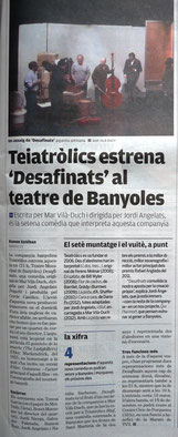 El Punt Avui (21/11/14)-Notícia de Ramon Esteban