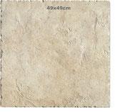 Gres Porcellanato Azteca Rosato 49x49 cm piastrella effetto pietra