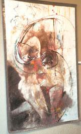 """""""Note de mes sens 2"""" 240/140cm, 2012"""