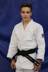 Justin Tremblay, ceinture marron