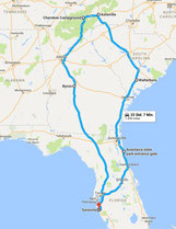 Strecke: Tag 2 (Google Maps)