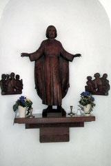 Jesus mit zwei Reliefs, Künstler unbekannt