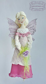 Авторская текстильная кукла Фея